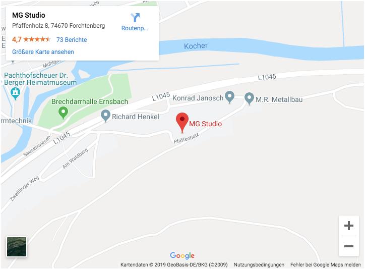 Map MG Studio